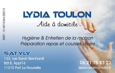 Carte Toulon