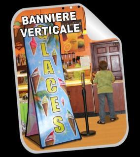 Banniere verticale