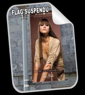 Flag suspendu